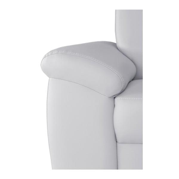 Canapea cu șezut pe partea dreaptă Florenzzi Bossi Big, alb