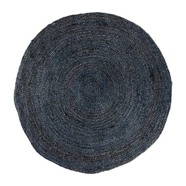 Bombay sötétszürke kerek szőnyeg, ø150cm - House Nordic