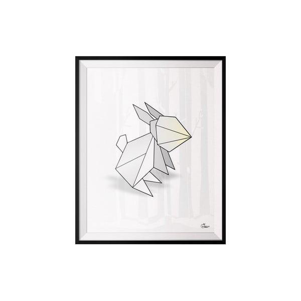 Plakát Rabbit, 30x40 cm