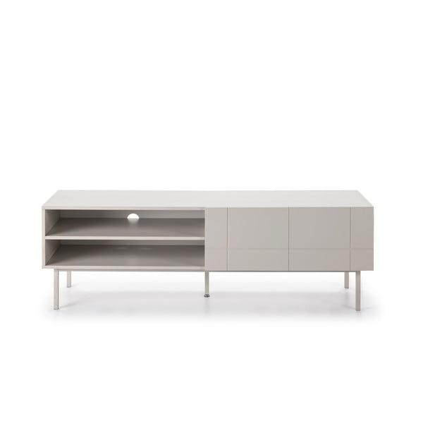 Krémovobiely televízny stolík Teulat Linea
