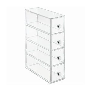 Organizator cu 4 compartimente InterDesign 4 Drawer Flip