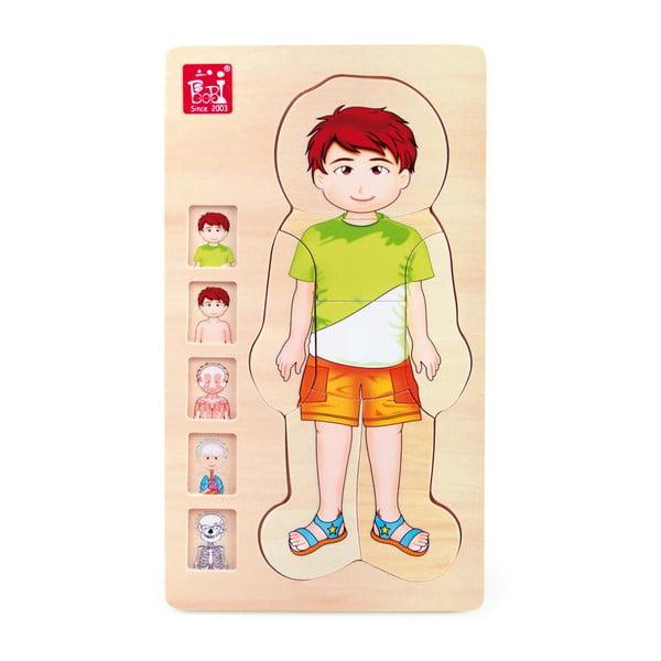 Dřevěná hračka Legler Anatomy Boy
