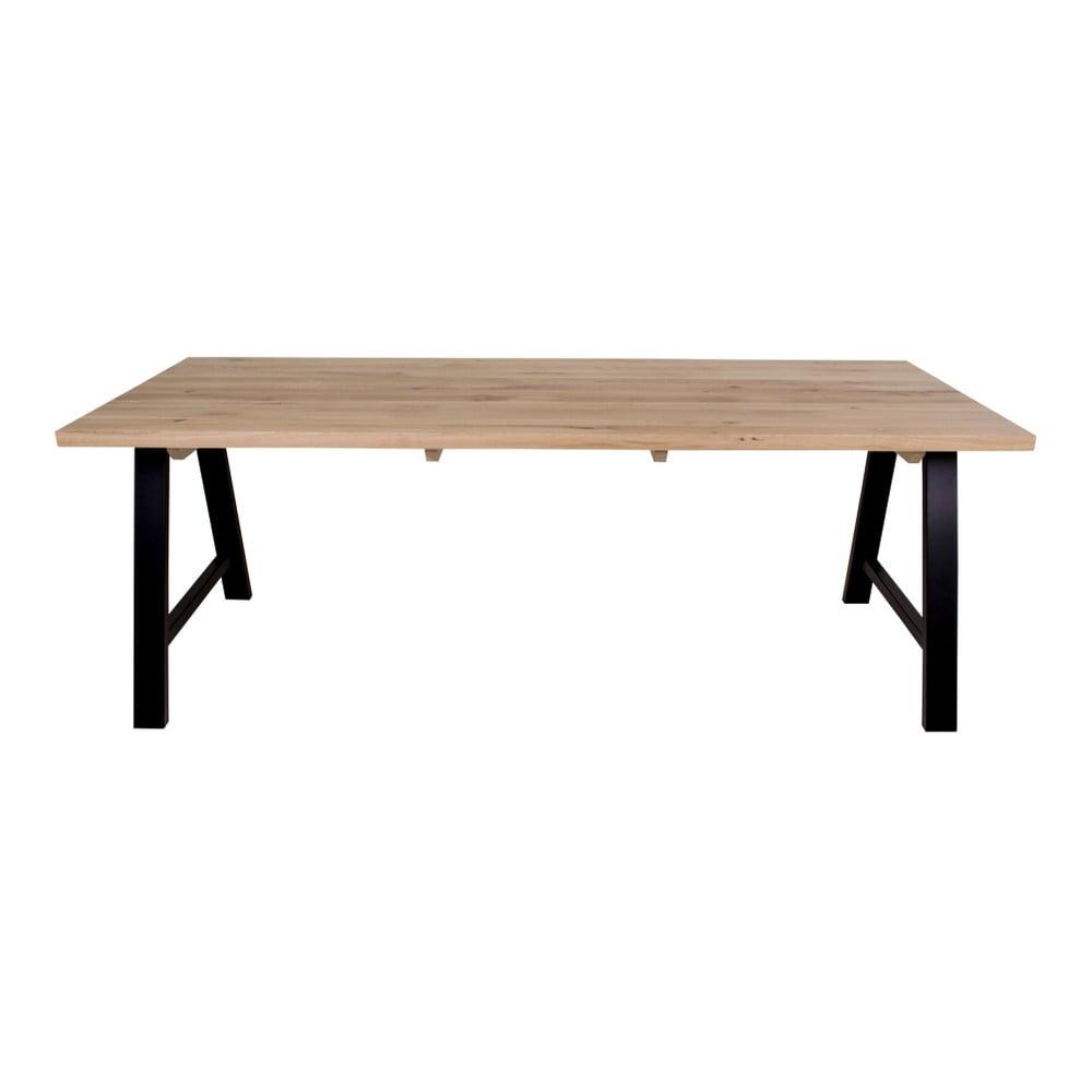 Jídelní stůl s deskou ze světlého dubového dřeva House Nordic Avignon, 240 x 100 cm