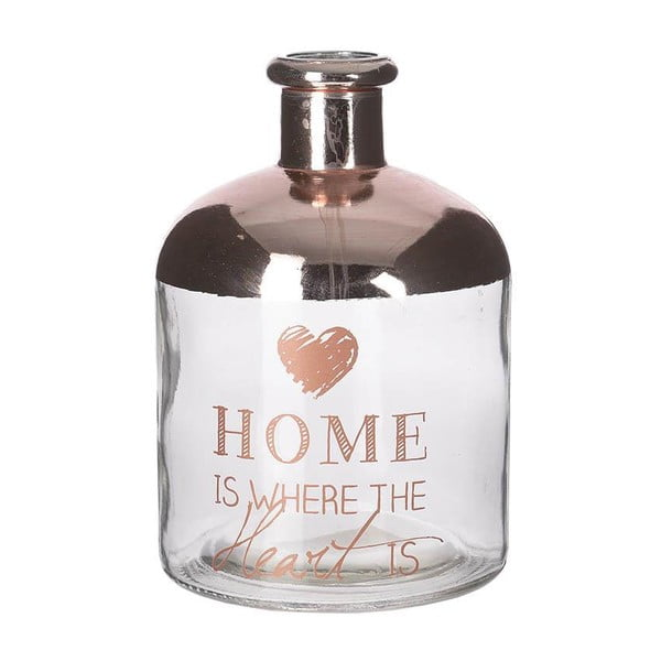 Skleněná váza Copper Home