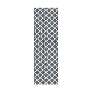 Šedý běhoun Hanse Home Magic Elegance, 50x150cm