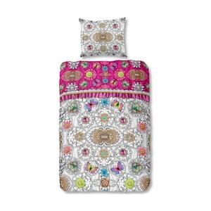 Lenjerie de pat din bumbac satinat Melli Mello Belicia, 140 x 200 cm