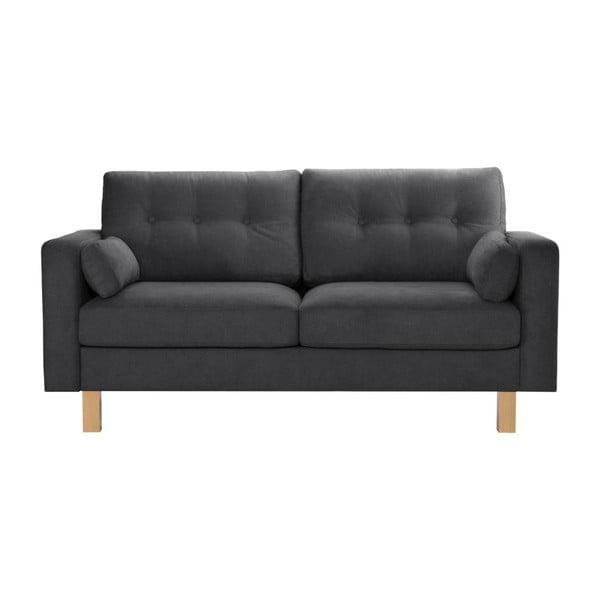 Canapea pentru 3 persoane Stella Cadente Maison Lagoa, gri antracit