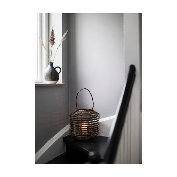 Hnědá dekorativní bambusová lucerna A Simple Mess Strat