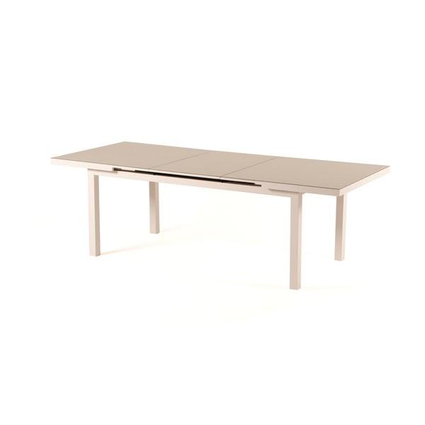 Šedobéžový rozkládací zahradní stůl pro 8-10 osob Ezeis Zephyr