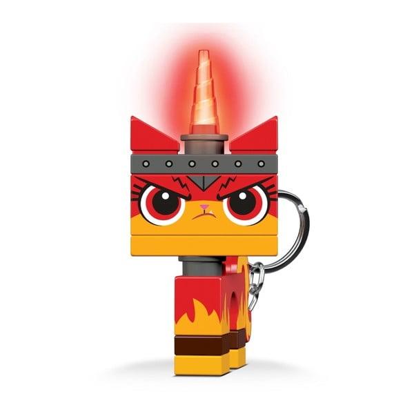 Svítící přívěsek na klíče LEGO®příběh2 Angry Kitty