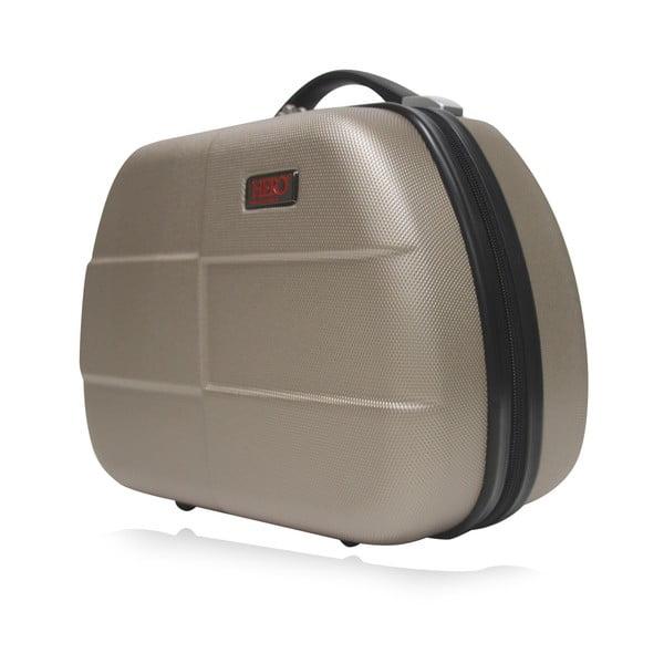 Béžové malé příruční zavazadlo Hero Glykerios,