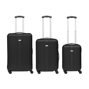 Set 3 trolere Packenger Travel, negru
