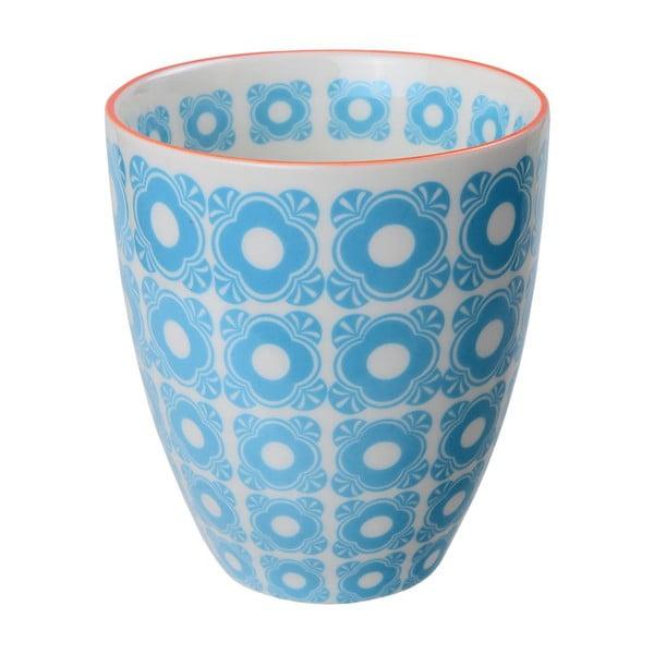 Porcelánový šálek Flowers Blue, 8,7x9,8 cm