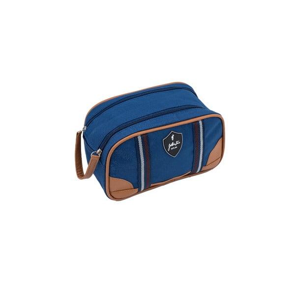 Modrá cestovná toaletná taštička GENTLEMAN FARMER Trousse, 3,6 l