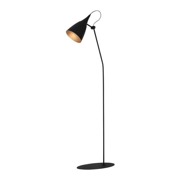Čierna voľne stojacia lampa Glimte Sento Duro