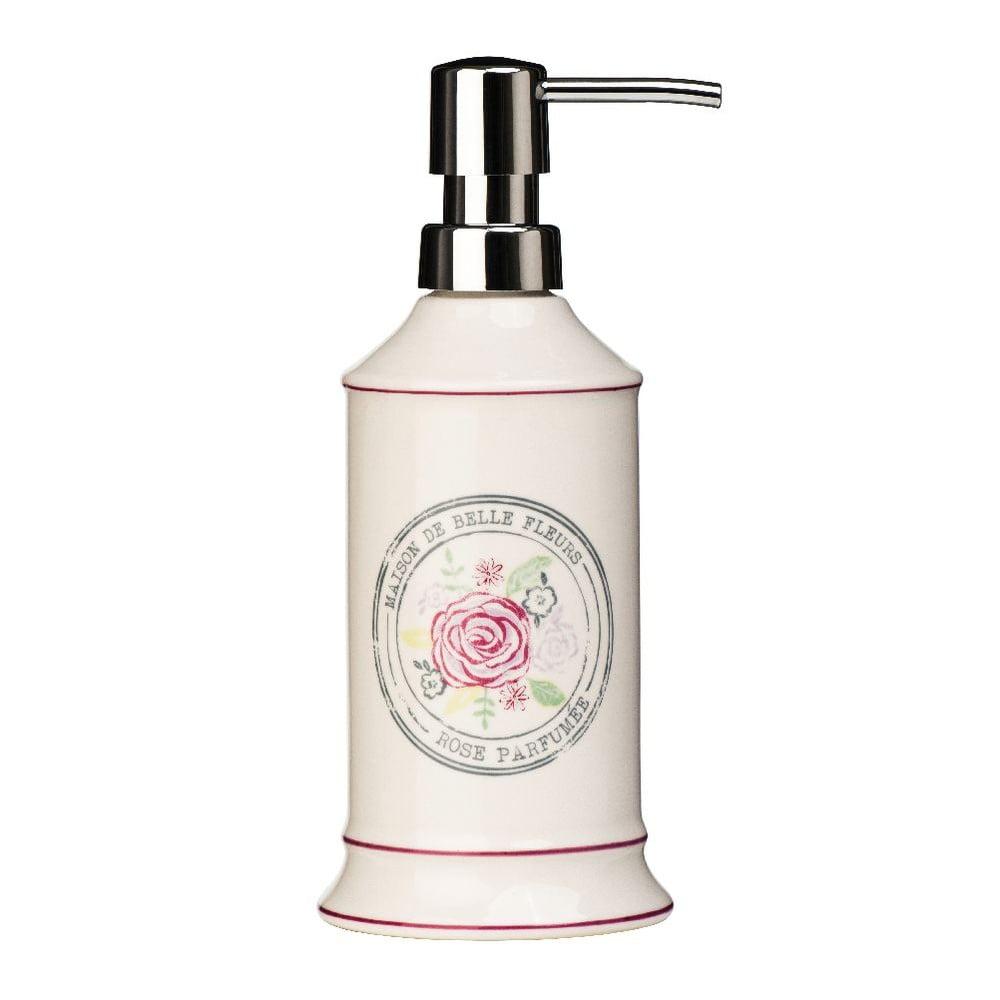 Krémový dávkovač na mýdlo z kameniny Premier Housewares Belle,275ml