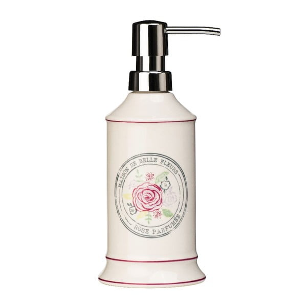 Krémový dávkovač na mydlo z kameniny Premier Housewares Belle, 275 ml