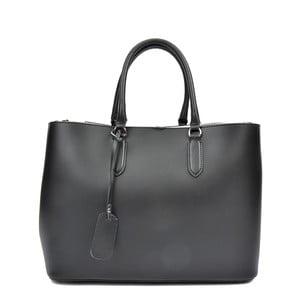 Černá kožená kabelka Anna Luchini Miriam