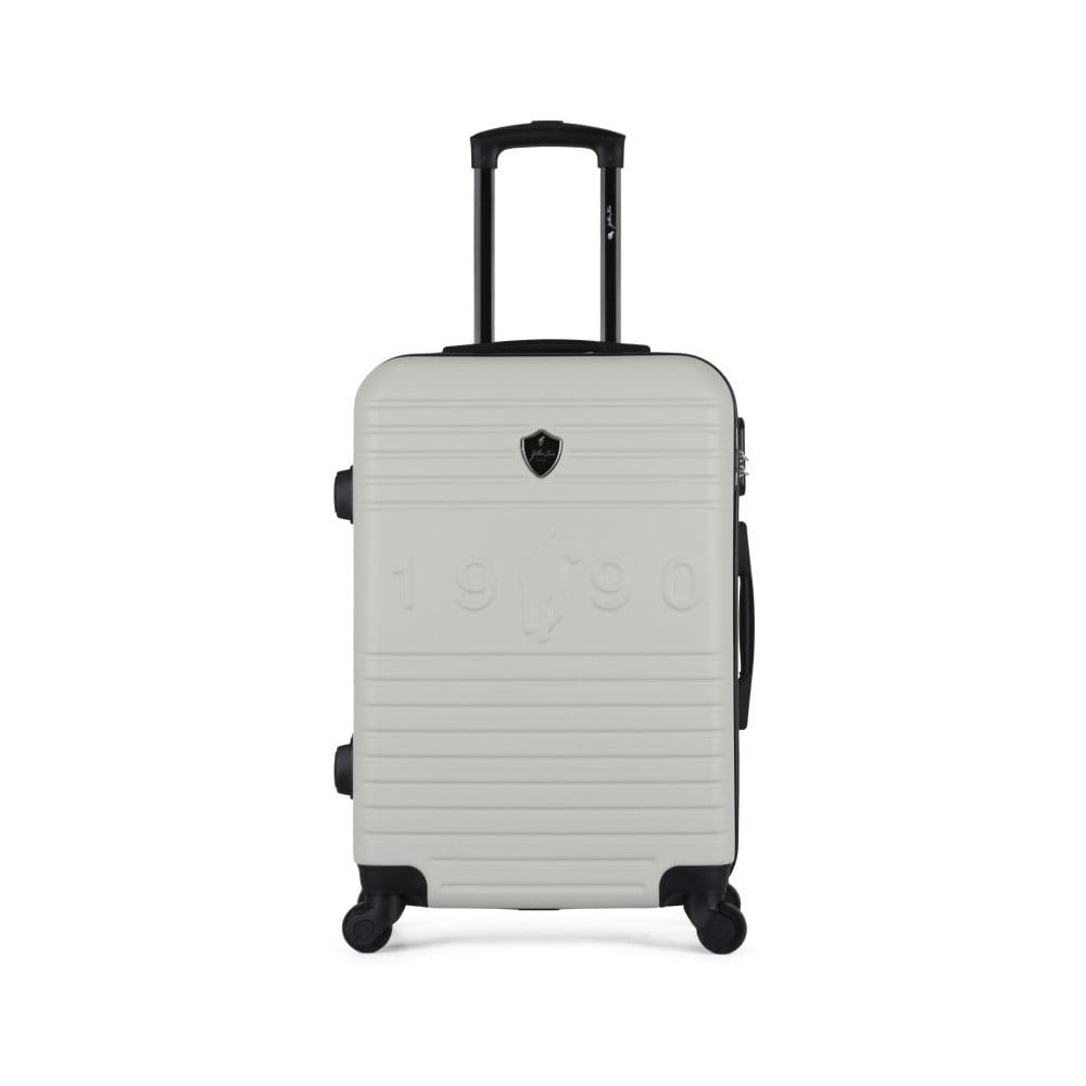 Béžový cestovní kufr na kolečkách GENTLEMAN FARMER Valise Grand Cadenas Integre, 51 x 75 cm