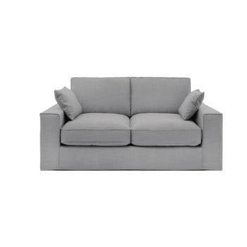 Canapea cu 3 locuri Vivonia Jane, gri deschis de la Vivonita