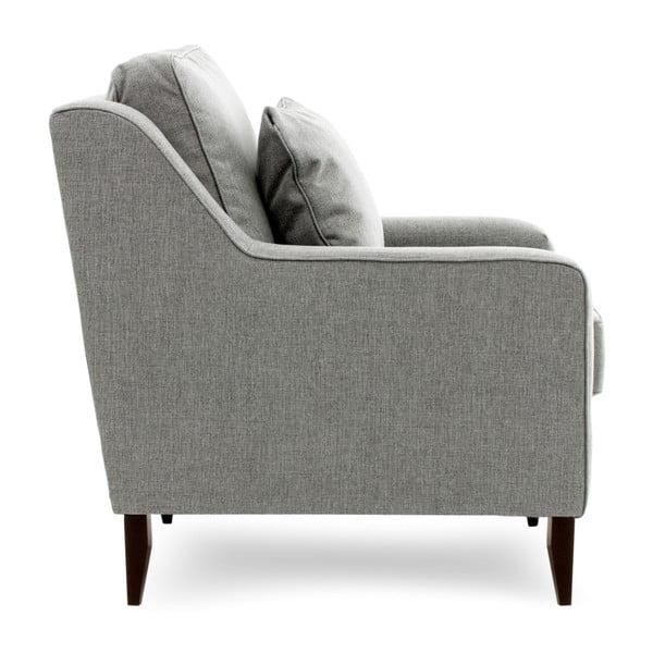 Canapea cu 3 locuri Vivonita Bond, gri