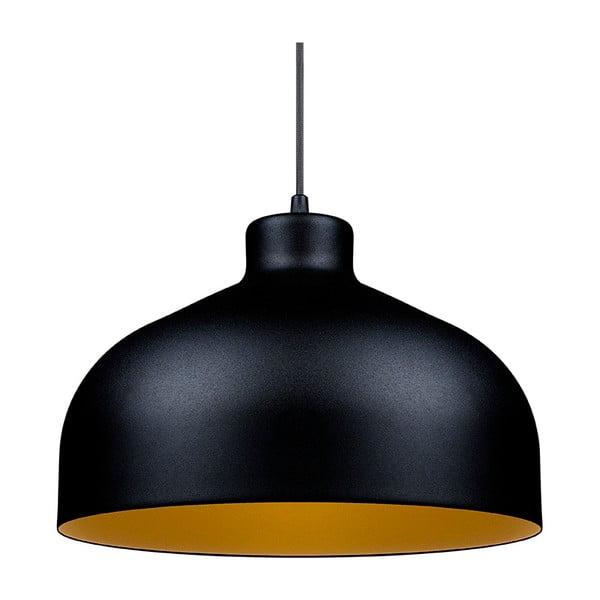 Černo-zlaté stropní světlo Loft You B&B, 44 cm