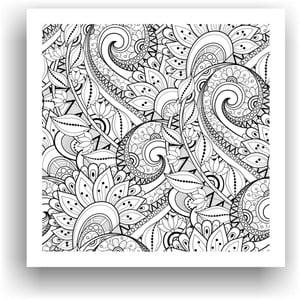 Obraz k vymalování Color It no. 61, 50x50 cm