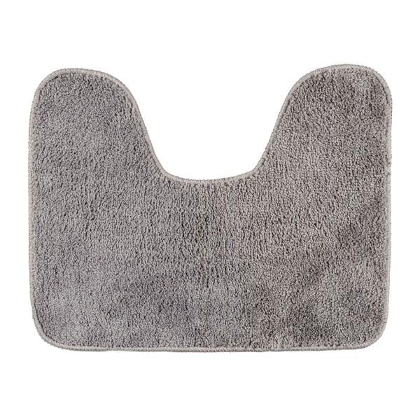 Sivá kúpeľňová predložka Wenko, 50×40 cm
