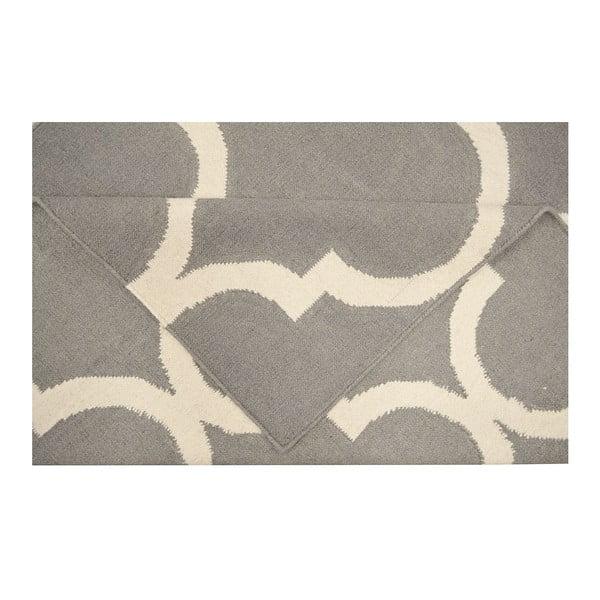 Vlněný koberec Bakero Caroline Grey, 120x180cm