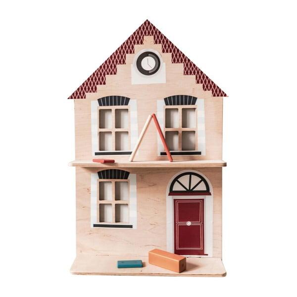Dřevěná nástěnná dekorace Dekornik Lets Go Dutch