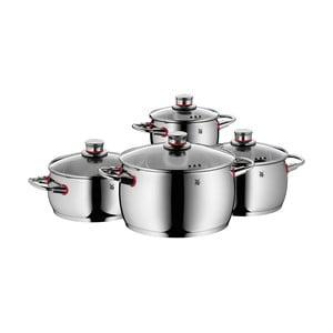 Sada 4 nerezových hrnců s poklicemi WMF Cromargan® Cooker