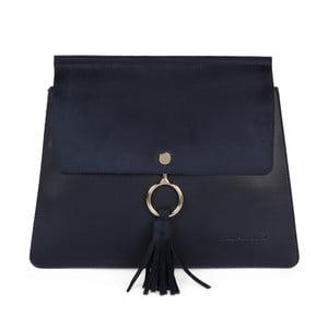 Tmavě modrá kabelka z eko kůže Beverly Hills Polo Club Sylvia