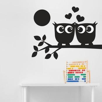 Autocolant decorativ pentru perete Black Owl de la Unknown