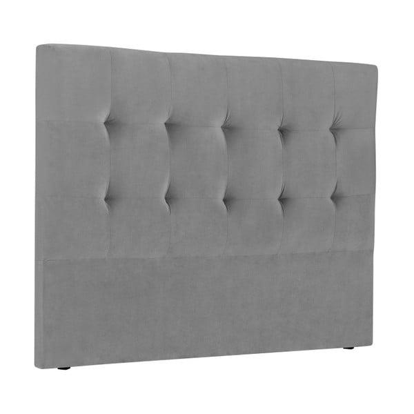 Šedé čelo postele Kooko Home Basso, 120 x 200 cm