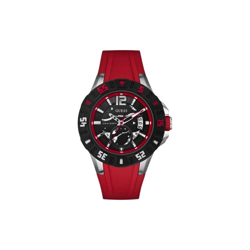 b74952f2e Červené pánské hodinky Guess W0034G1   Bonami