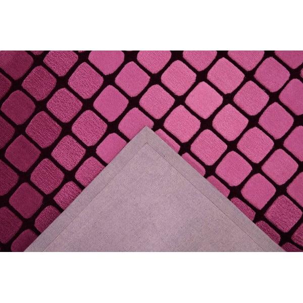Koberec Bakero Casablanca Square 120x180 cm, růžový