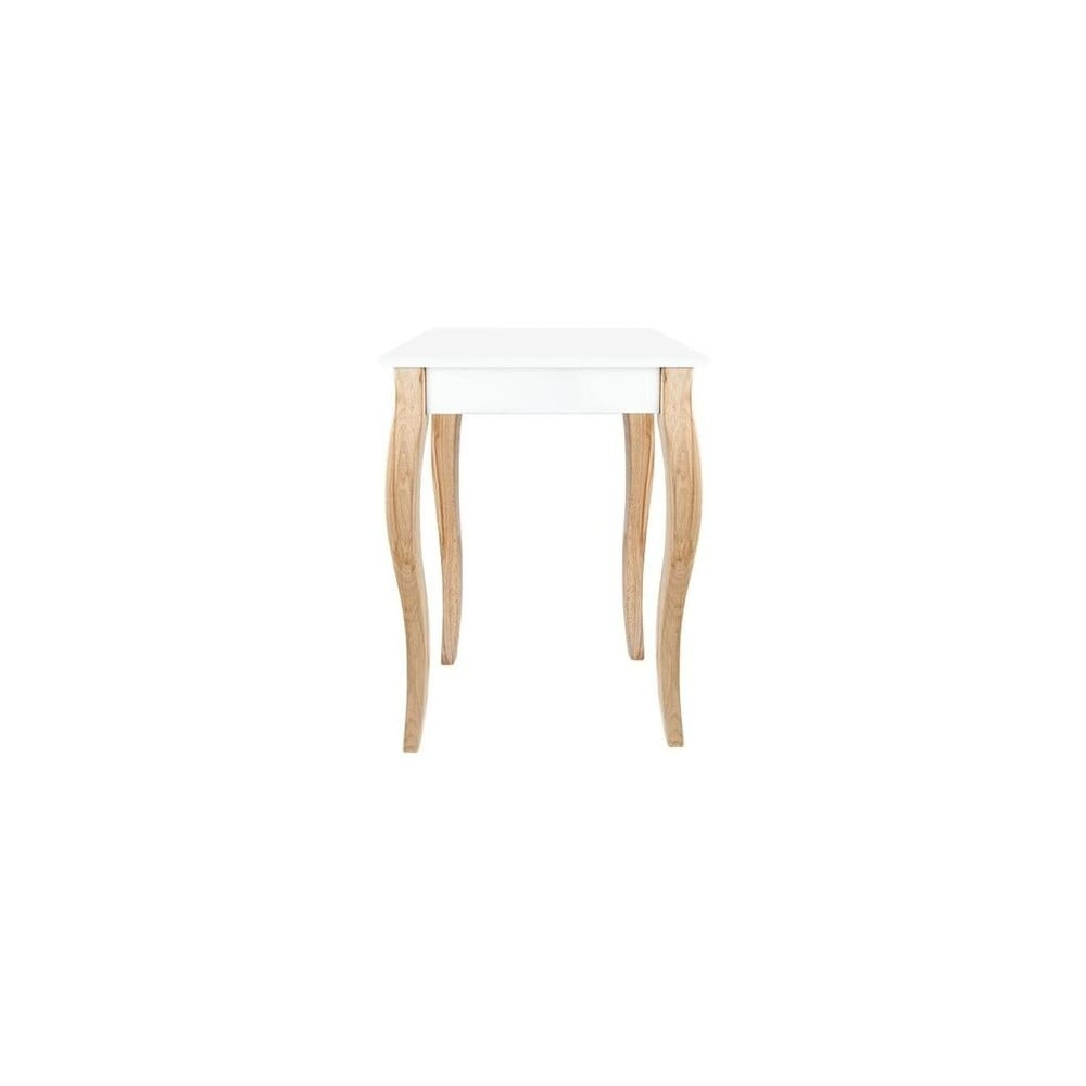 Bílý konzolový stolek Ragaba Dressing Table, 65 x 74 cm
