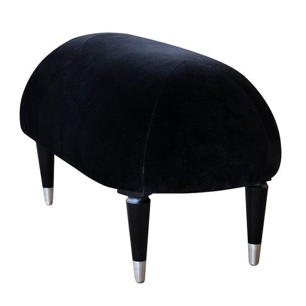Lavice na sezení Beetle, černá