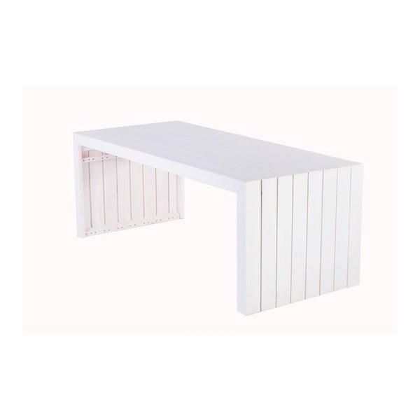 Zahradní stůl Siesta White, 200x88 cm