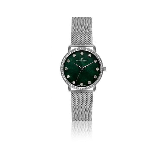 Zegarek damski z paskiem w srebrnym kolorze Frederic Graff Lychee