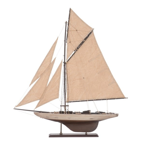 Objekt plachetnice Sail Boat Beige, 71 cm