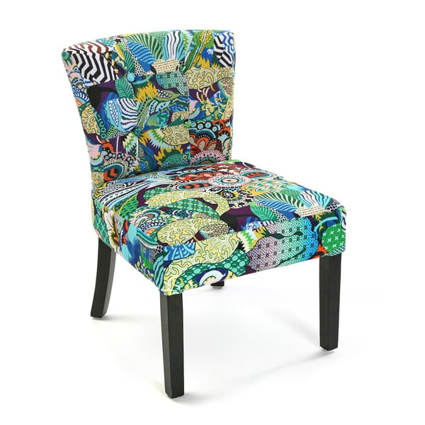 Fotel Versa Tropical Patchwork