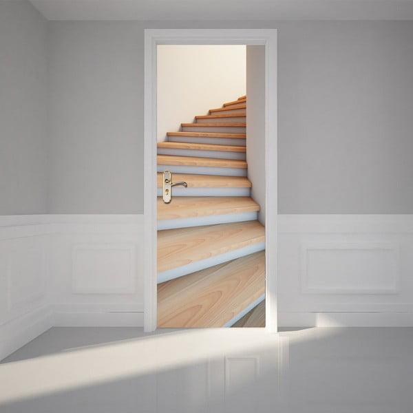 Adhezivní samolepka na dveře Ambiance Modern Stairway, 83 x 204 cm
