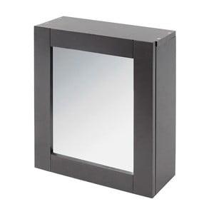 Zrcadlo s úložným prostorem In Grey, 35x30 cm