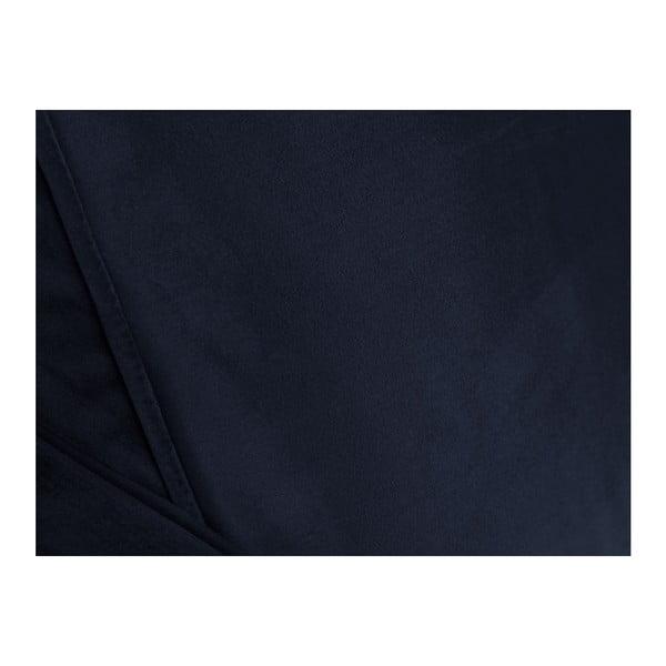 Tmavě modrá trojmístná pohovka Cosmopolitan design Chicago