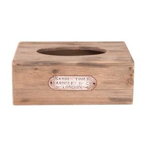 Dřevěný box na kapesníky Clayre&Eef Lucero