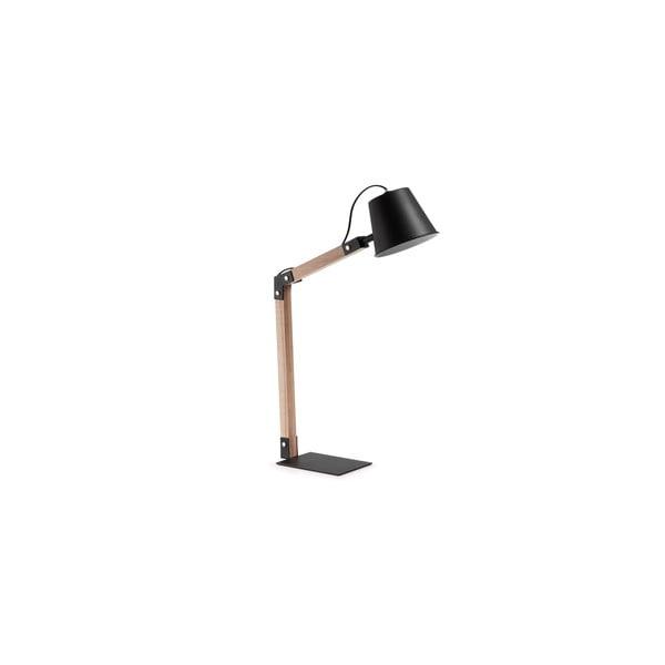 Černá stolní lampa La Forma Andra
