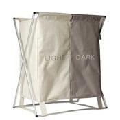 Béžový koš na špinavé prádlo Sabichi Light & Dark