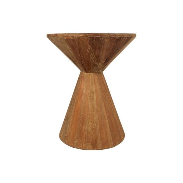Hourglass dohányzóasztal újrahasznosított fából - HSM collection