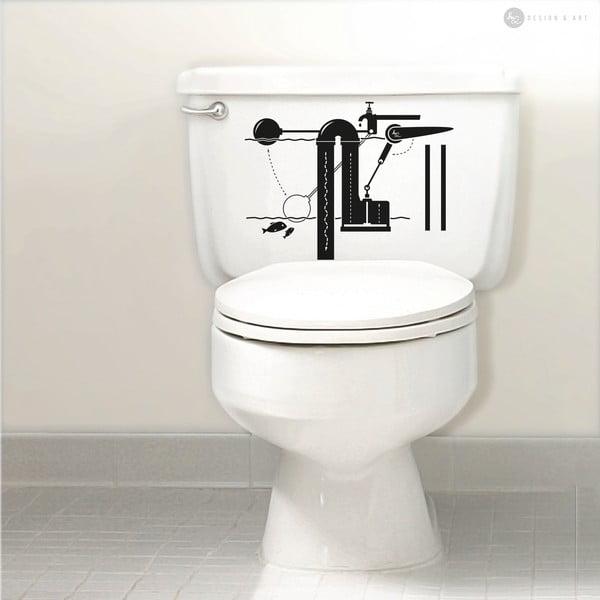 Samolepka Flush Mechanism